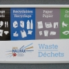 Waste Diversion signage for the Halifax 2011 Canada Games venues