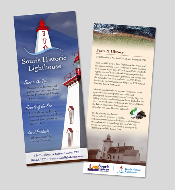 Souris Historic Lighthouse brochure