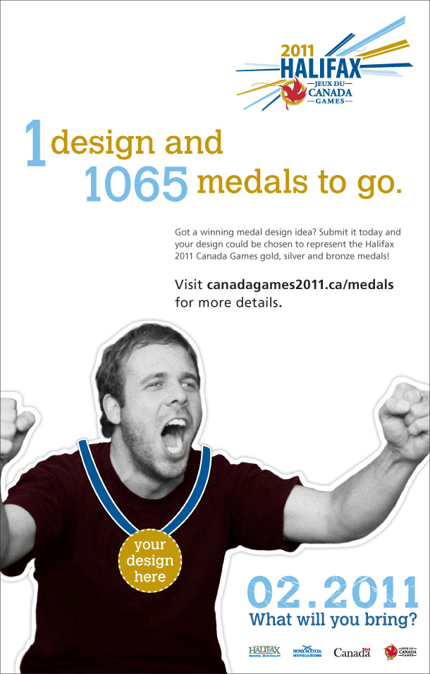 Medal Design Competition Advertisement