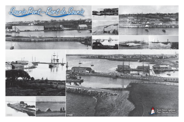 Historic photos of the Souris Port