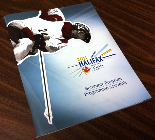 Halifax 2011 Canada Games Souvenir Program