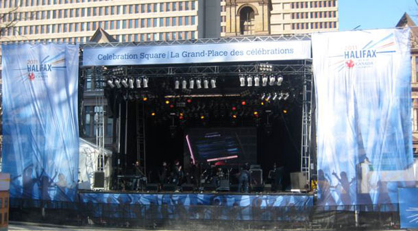 Celebration Square stage design