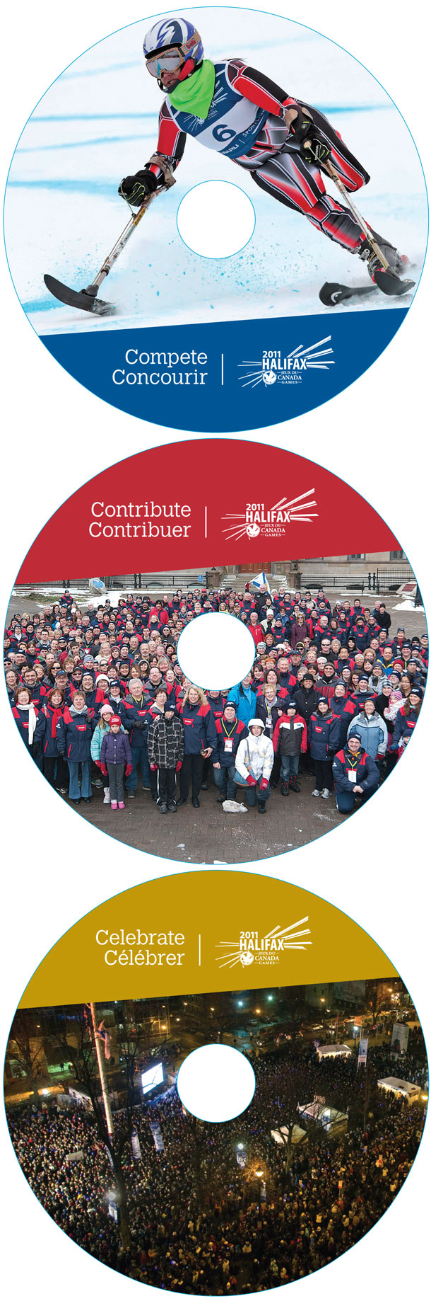 Halifax 2011 Canada Games - Commemorative DVDs