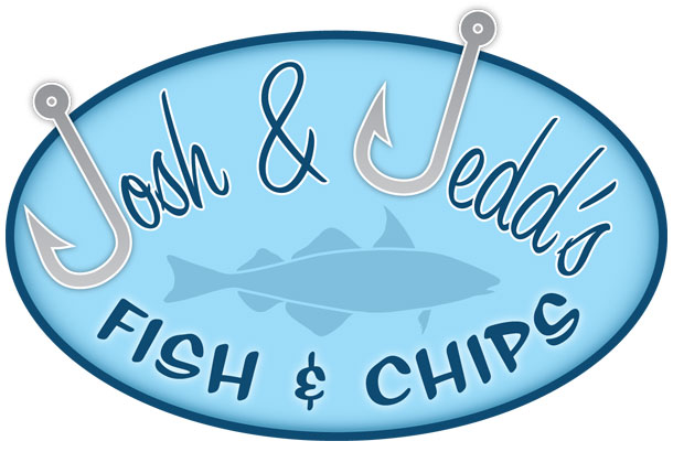 Josh and Jedd's fish & chips logo