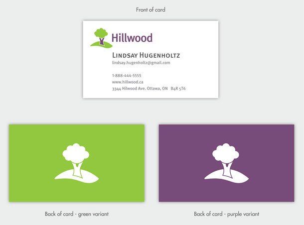 Hillwood - Business Cards