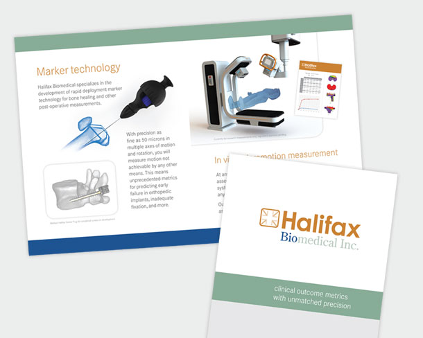 Halifax Biomedical Inc. - Brochure