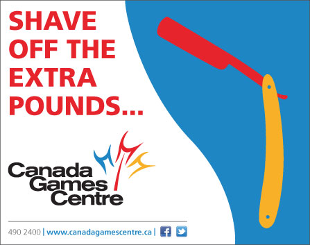 Sweeny Todd program ad for the Canada Games Centre